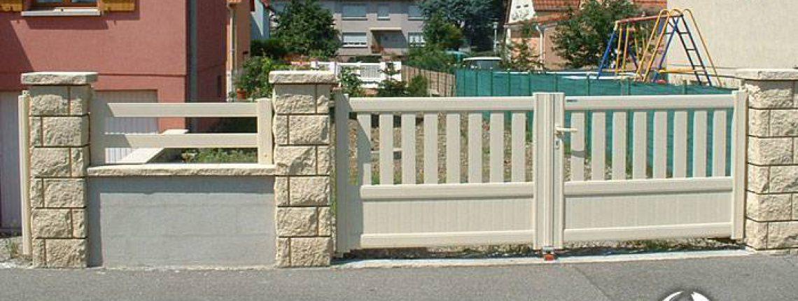 Portail, portillon, clôture : jouez les coordonnés !